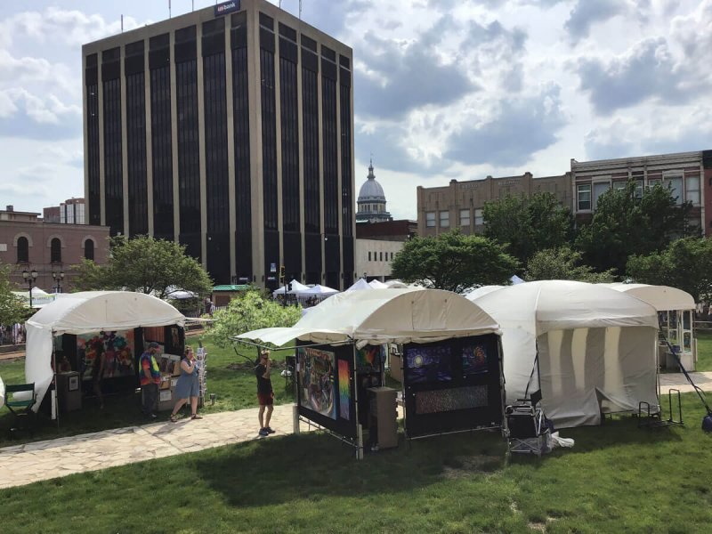 Photos: Springfield PrideFest + Old Capitol Art Fair